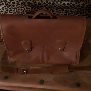 Coach Bags - Coach brief case- with padded laptop sleeve- strap